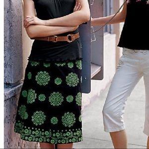 Lithe Anthropologie 12 Cigarro Boho A-Line Skirt